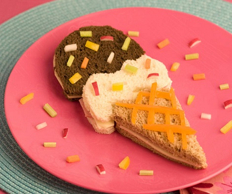 sanwiches formas fiesta