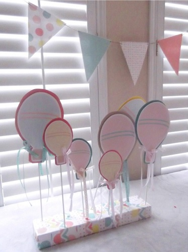ideas baby shower globos nino pai pai