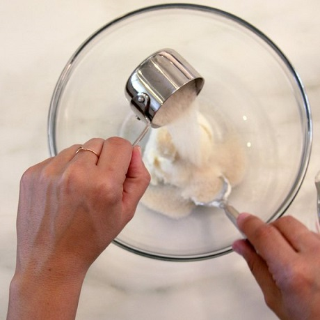 postres rapidos fiestas pasteles hojaldre fruta mezclar