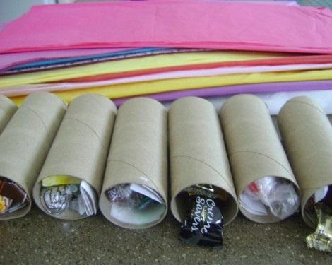 bolsitas gominolas sorpresa materiales