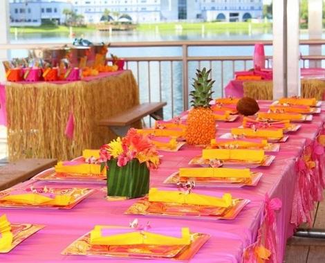 fiestas tematicas verano tropical