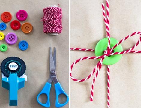 envolver regalos materiales