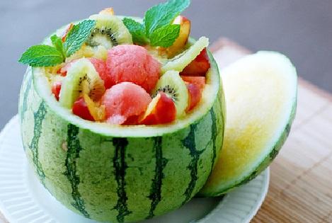 postres fruta verano sandia