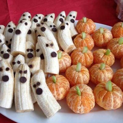 frutas postre halloween 2013