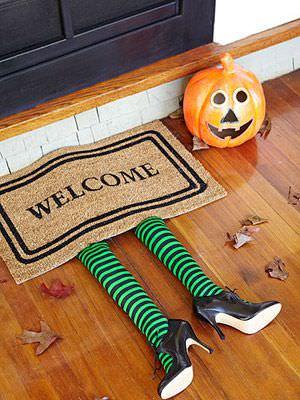 entrada con bruja halloween 2013