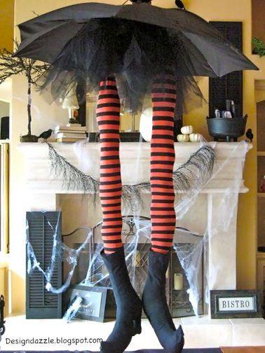 piernas de bruja