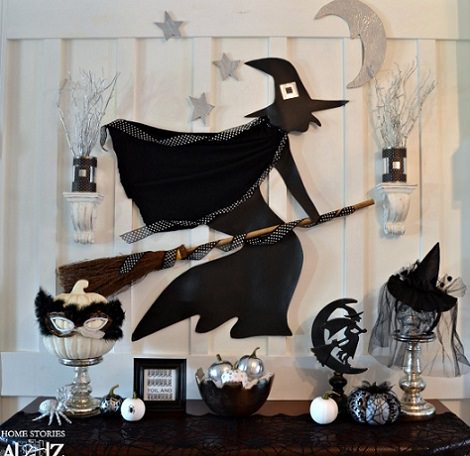 decoración pared hallowen