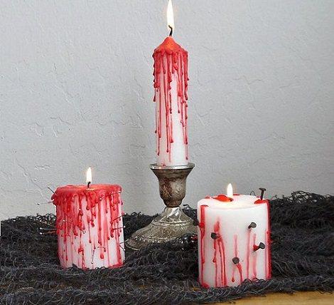 velas halloween 2013