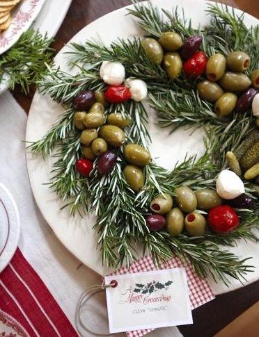 aperitivos navidad fáciles aceitunas