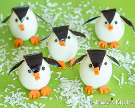 pingüinos decoración