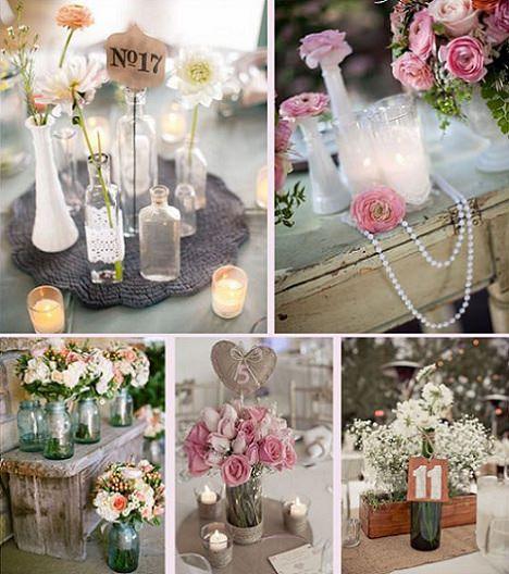 Ideas decorar para una fiesta de boda vintage ideas para - Decorar mesas para eventos ...