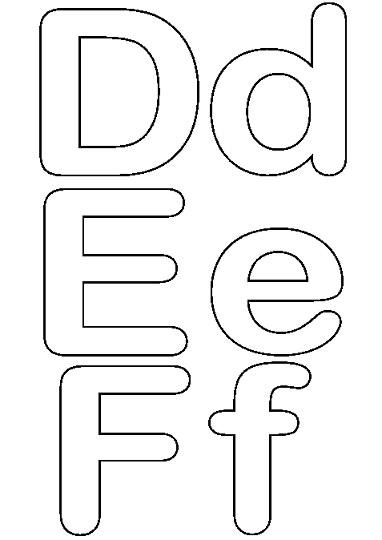 Letras para imprimir y recortar gratis - Ideas para fiestas