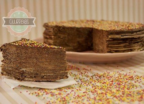 Receta De La Tarta De Huesitos Con Obleas Y Nutella Ideas