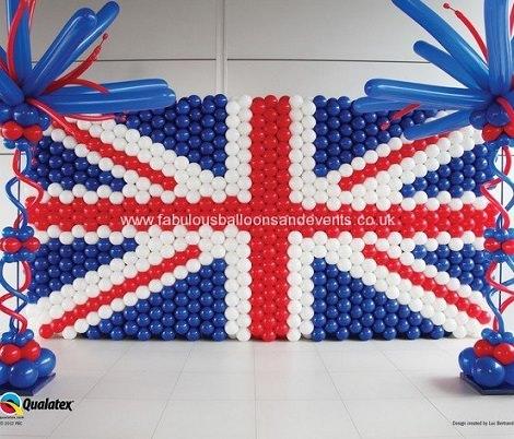Ideas para decorar una pared de globos ideas para fiestas - Como adornar una pared ...